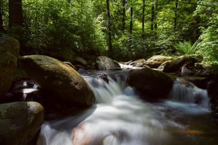 Langzeitbelichtung im Harz – Ilsetal
