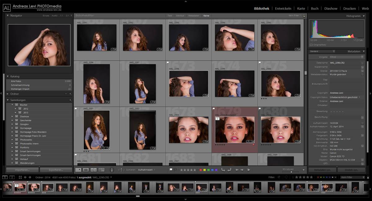 Fotokurs Bildbearbeitung mit Adobe Lightroom