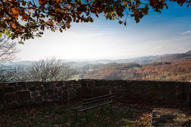Herbst im Naturpark Südharz