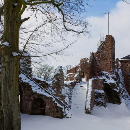 Fotokurs auf der Burgruine Hohnstein