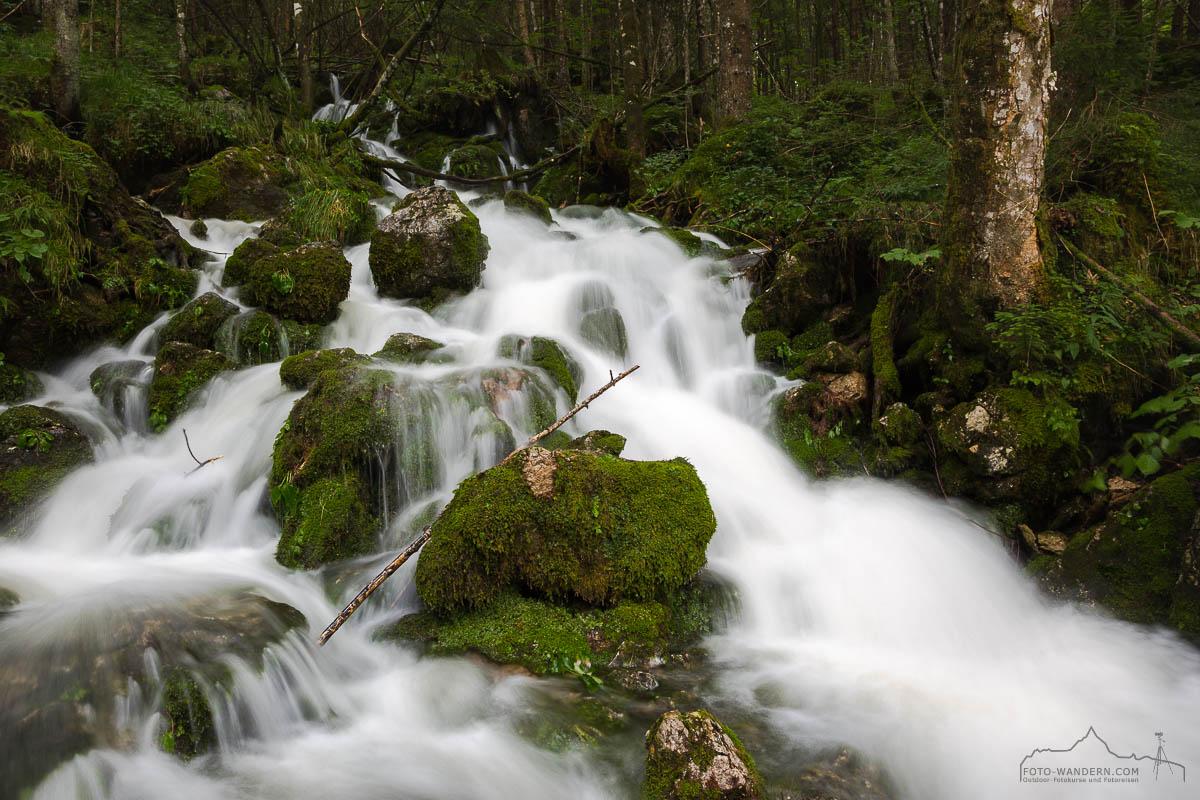 Fotokurs-Wanderwoche Berchtesgadener Land - Gletscherquellen