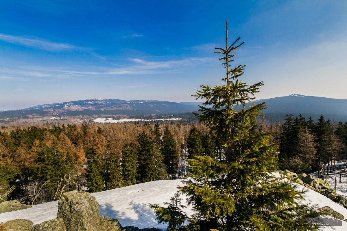 Gipfelblick vom Achtermann