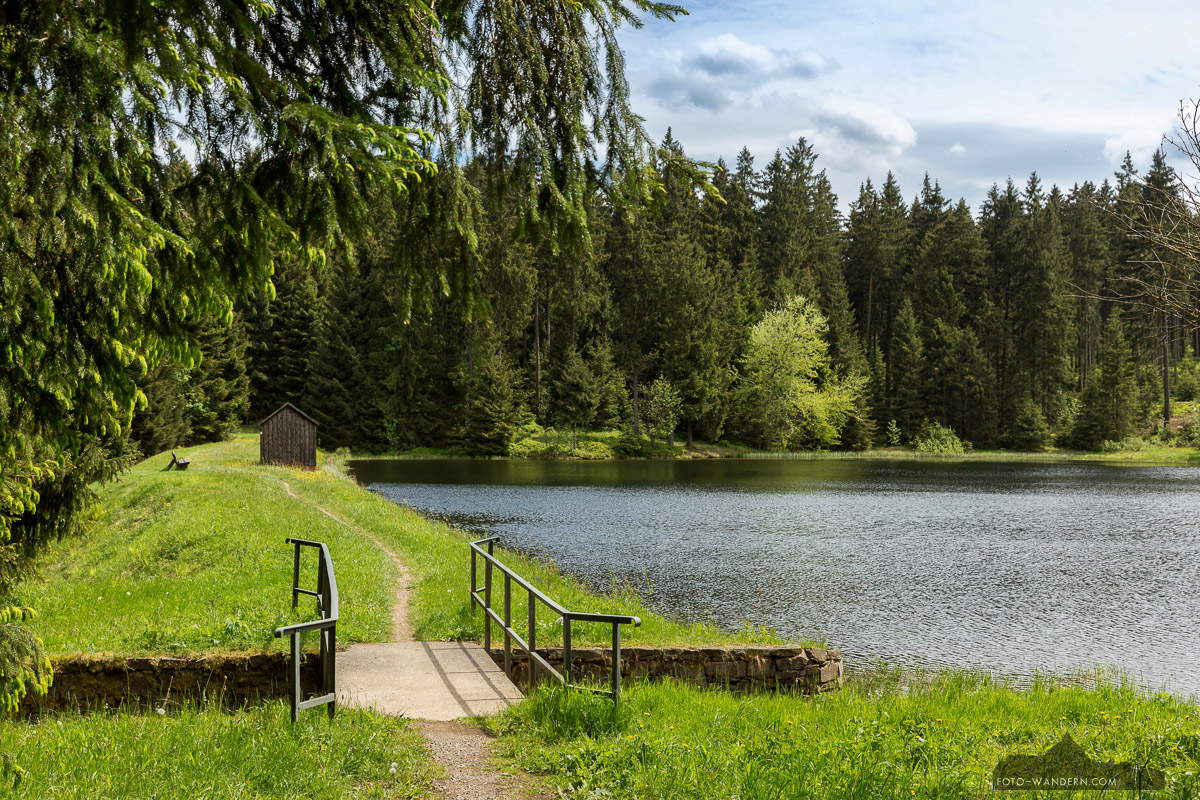 Oberer Hahnebalzer Teich © Andreas Levi