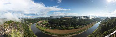 Panorama Basteiaussicht