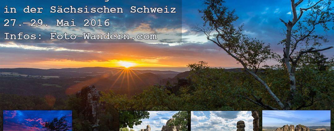Fotoworkshop Wochenende Mai 2016 in der Sächsischen Schweiz