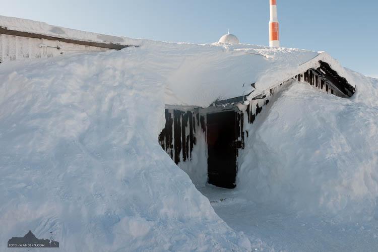 Fotokurs Landschaftsfotografie Brocken im Winter