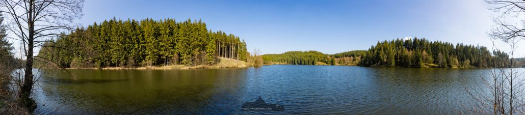 Panorama Rappbode-Vorsperre @ Foto-Wandernc.om
