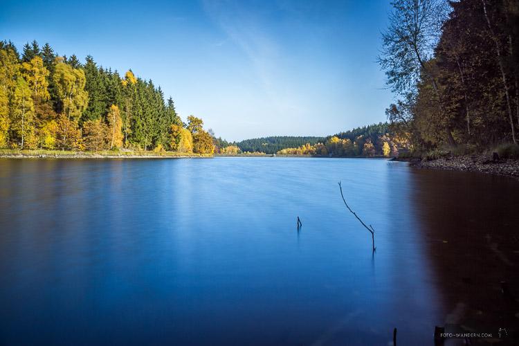 Landschaftsfotografie an der Talsperre Mandelholz