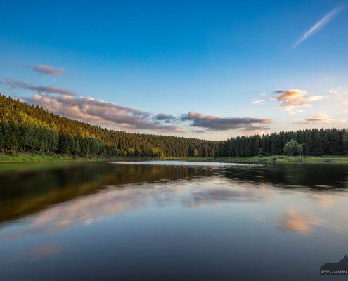 Landschaftsfotografie an der Talsperre Mandelholzalsperre