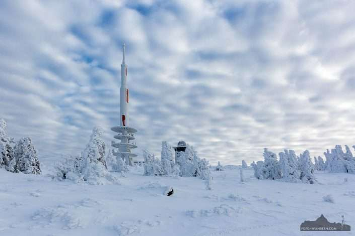 Fotokurs Landschaftsfotografie auf dem Brocken - Winter
