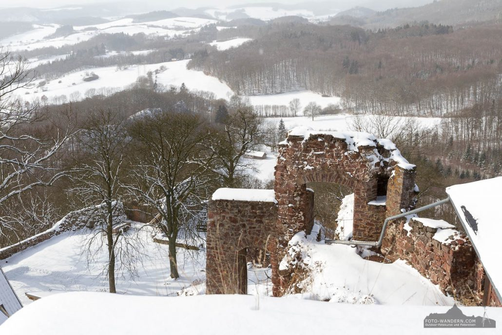 Fotokurs auf der Burgruine Hohnstein im Südharz