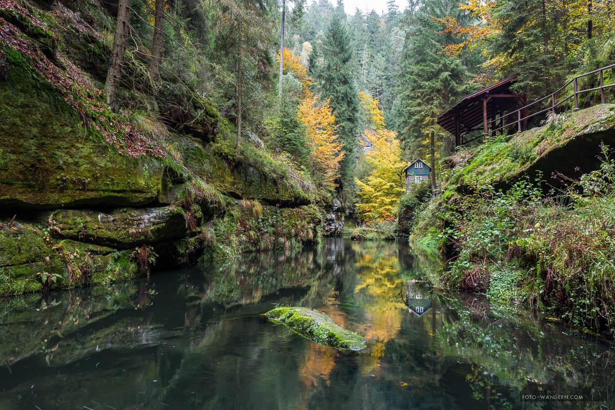 Herbst in der Edmundsklamm