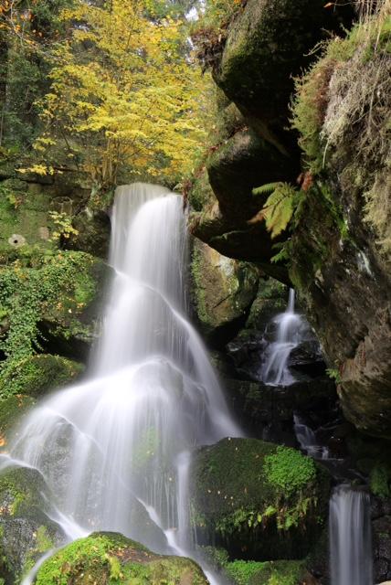 Magische Momenten beim Fotokurs Langzeitbelichtungen am Kirnitzschtaler Wasserfall mit Foto-Wandern.com © Mario Bussmann