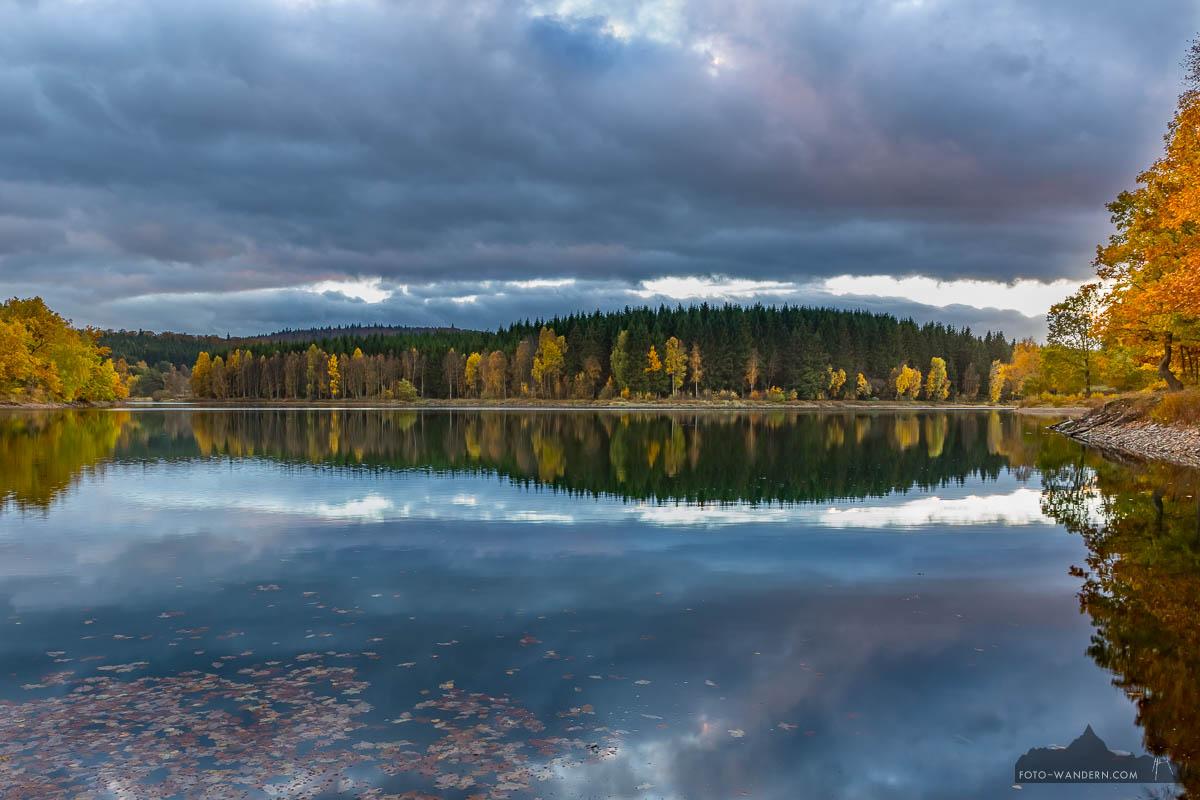 Herbstabend im Biosphärenreservat Südharz