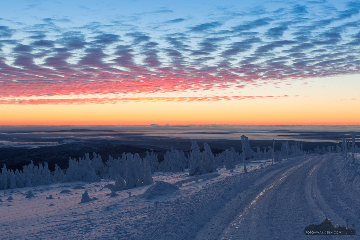 Fotokurs Landschaftsfotografie- Winter auf dem Brocken im Harz