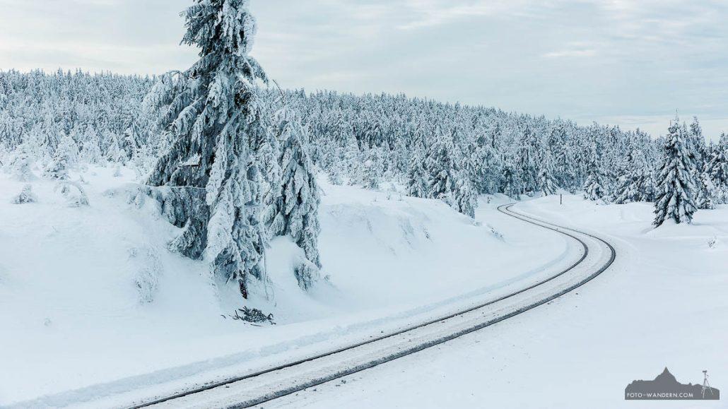 Winter auf dem Brocken im Harz