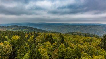 Fotokurs-Wanderwoche im Harz - Herbst 2017 - Blick vom Poppenbergturm
