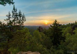 Fotoreise Sächsische Schweiz - Sonnenaufgang auf den Schrammsteinen