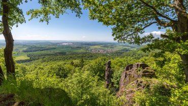 Landschaftsfotografie im Naturpark Südharz - Felsen