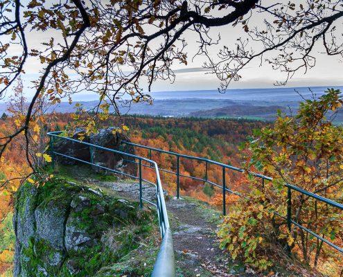 Fotokurs Landschaftsfotografie im Naturpark Südharz - Klippentour