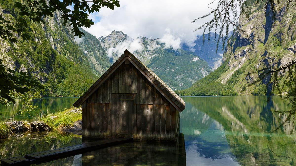 Fotokurs-Wanderwoche Berchtesgadener Land - Hütte am Obersee
