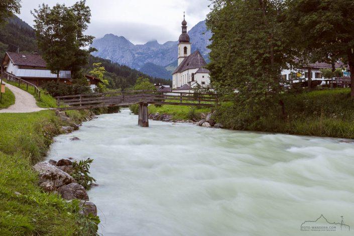 Fotokurs-Wanderwoche Berchtesgadener Land - Kirche in Ramsau