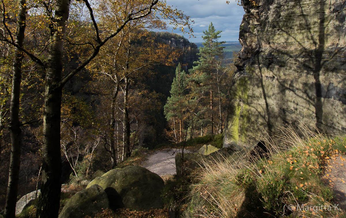 Fotokurs-Wochenende auf dem Malerweg in der Sächsischen Schweiz - Herbst 2017 © Margitta K.