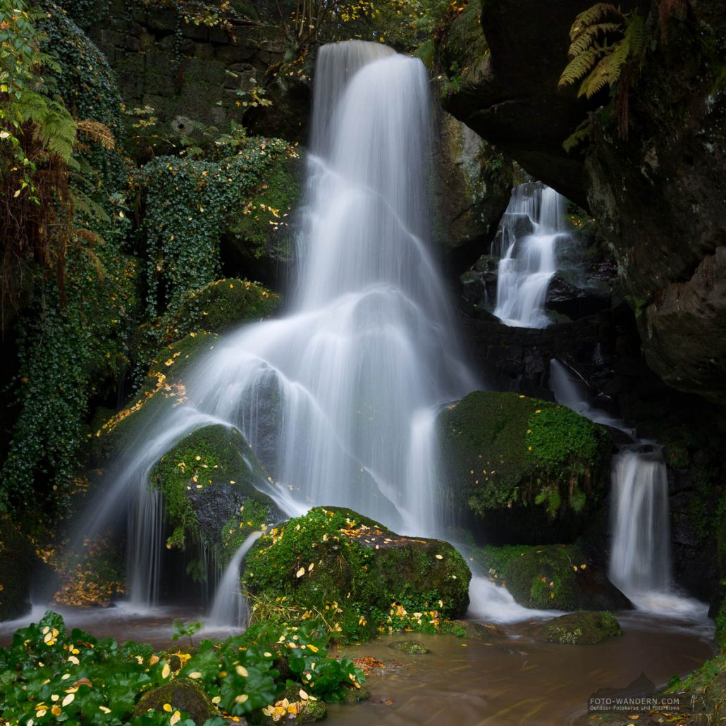 Fotokurs auf dem Malerweg - Lichtenhainer Wasserfall