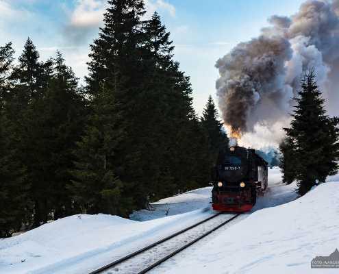 Die Brockenbahn im Harz