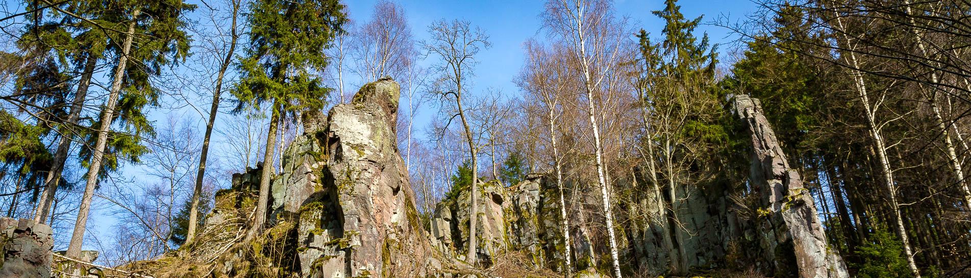 Fotowanderung in das Steinmuehlental im Natürpark Südharz