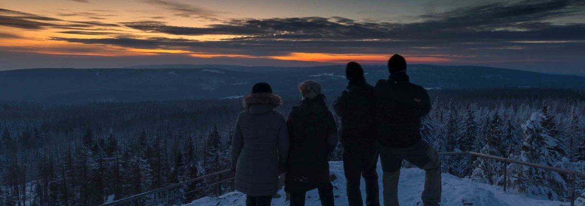 Fotowanderung zum Sonnenuntergang auf den Achtermann © Margitta K.