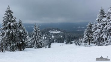Blick vom Wurmberg im Winter