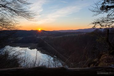 Sonnenuntergang auf dem Himmelreich