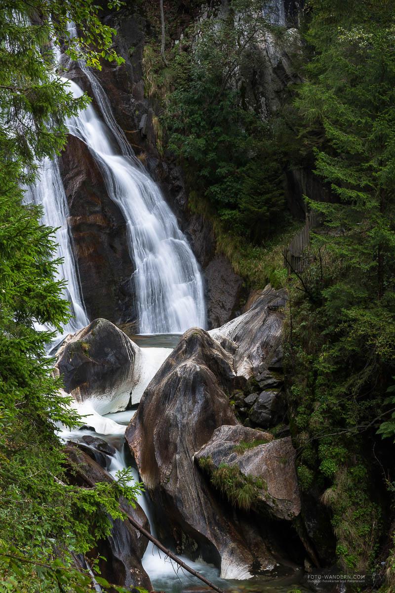 Frankbach - Wasserfall im Tauferer Ahrntal