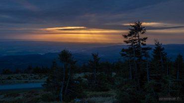 Harzer Gipfeltour -Sonnenaufgang auf dem Brocken