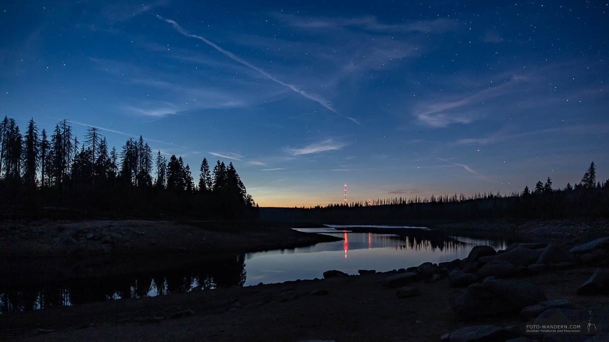 Nachts am Oderteich