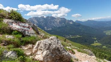 Hirzelsteig, Dolomiten