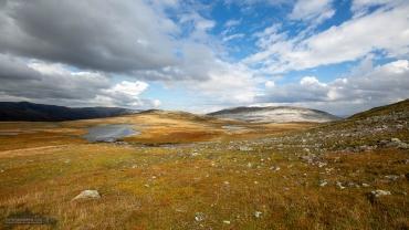 Blick vom Rimstigfjellet zum Breiskrednosi - Fotoreise Norwegen 2018