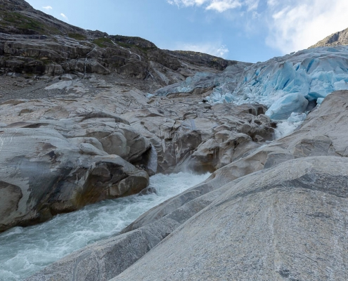 Fotoreise Norwegen 2018 - Gletscherwanderung am Nigardsbreen