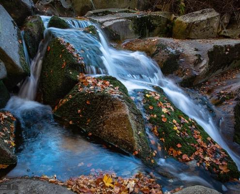 Herbst an der Ilse im Harz