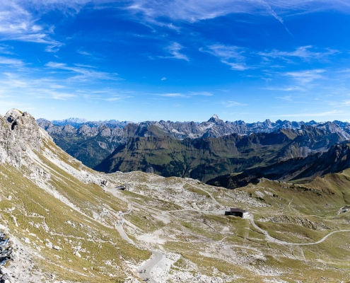 Fotoreise Allgäu 2018 - Nebelhorn-Panorama
