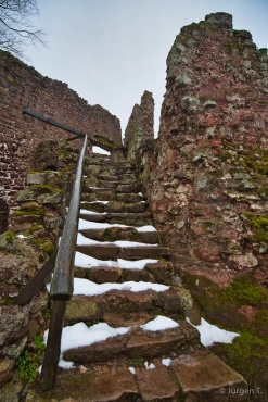 Fotokurs Landschaftsfotografie auf der Burgruine Hohnstein