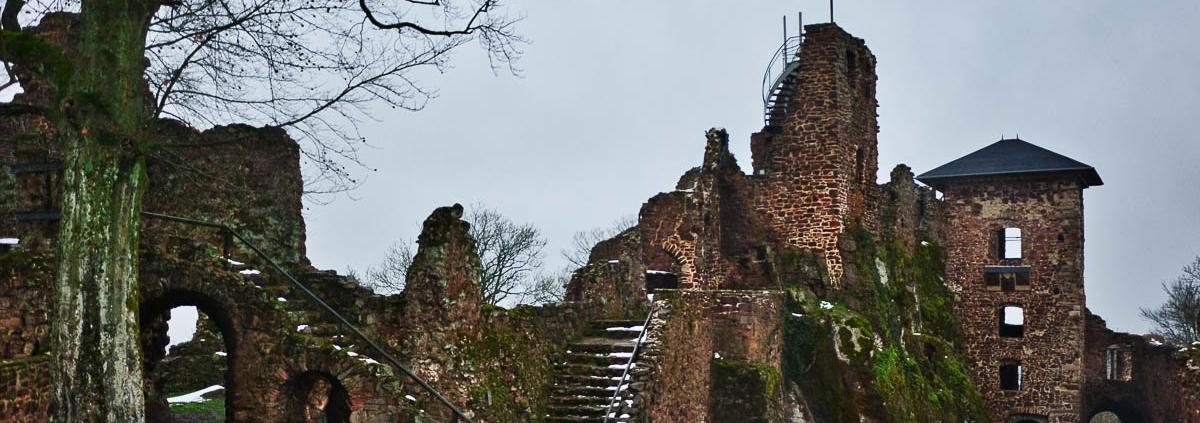 Fotokurs Landschaftsfotografie auf der Burgruine Hohnstein © Silke B.