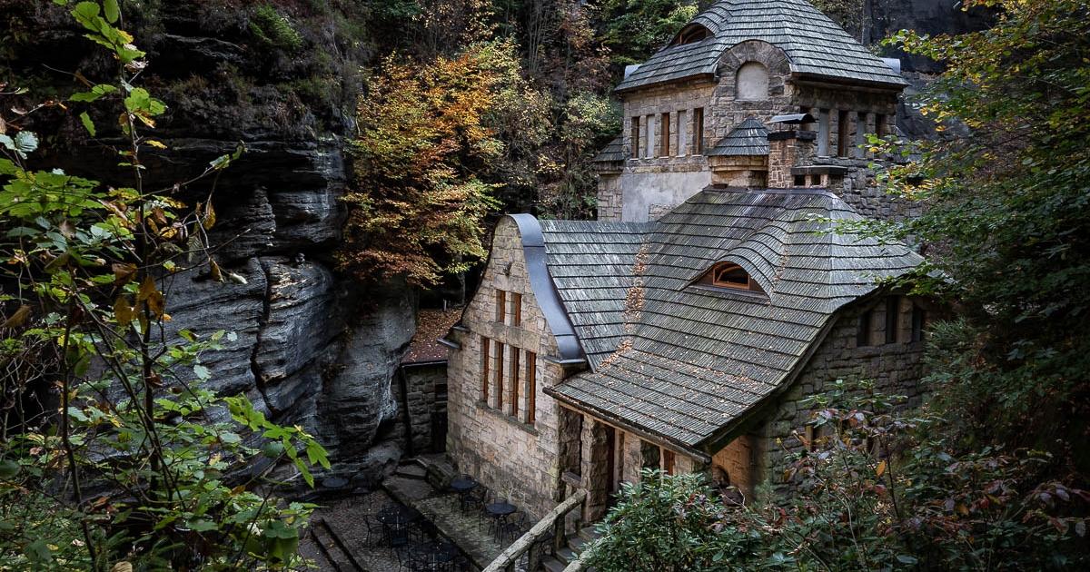 Fotoreise Elbsandsteingebirge - Altes Gaswerk in Hrensko