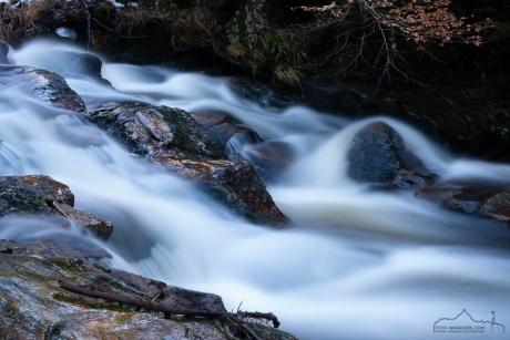 Winter an den Bodefällen im Harz
