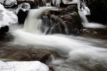 Winter an der Ilse, Harz