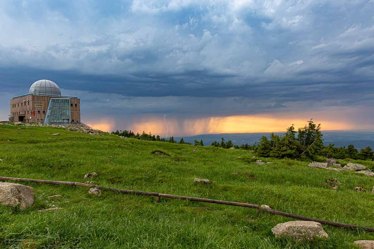 Sommergewitter am Brocken