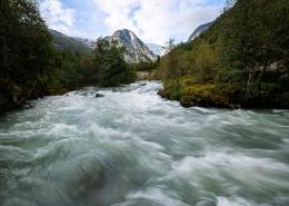 Fotoreise Norwegen - Bøyabreen Gletscher, Fjærland