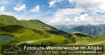 Fotokurs Wanderwoche Allgaeu Juli 2020
