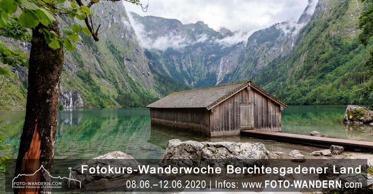 Fotokurs Wanderwoche Berchtesgadener Land Juni 2020